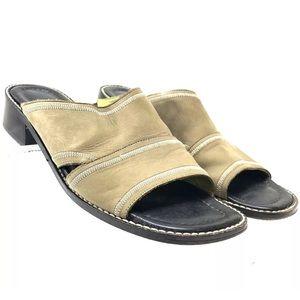 Donald Pliner Women's Slides Mules 1.5 Inch Heel
